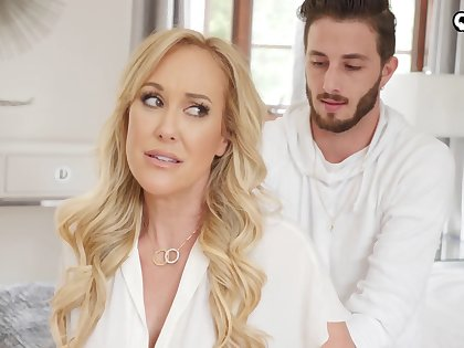 Stacked MILF stepmom wants more than just a massage from her stepson