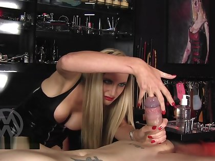 MISTRESSMIX - Mistress Nikki Whiplash Extreme Urethral Fingering And Soundi