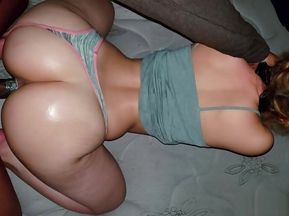 SLIM THICK BEAUTY RIDES BBC REVERSE COWGIRL UNTIL I ACCIDENTLY CUM