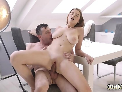 Superannuated mom enjoys with an increment of man fuck young girl hd Superannuated wise