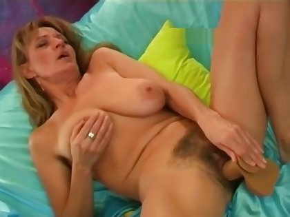 Diana cumming several times in the matter of dildo