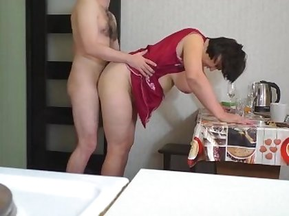 OlaMilash-Mom and Stepson make Reverence and Anal Coition