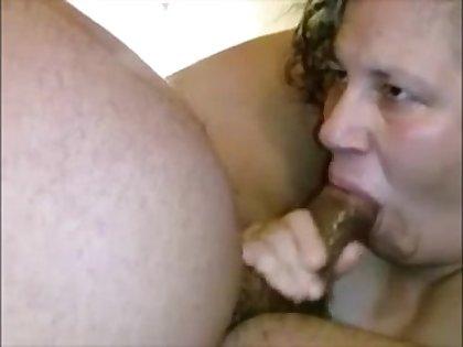 Big grandma sucking black dick rub someone up the wrong way her mouth creampied of cum