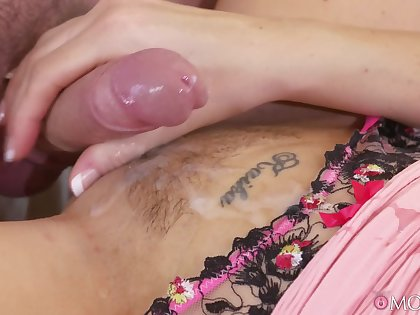 POV video be beneficial to mature mother giving head and having passionate sex