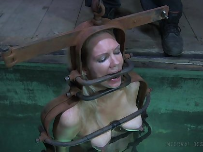 Water castigation be advisable for a nasty whore with a nice making and yummy tits