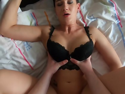 Sexy Stepmom Gets A Hot Creampie From Her Stepson