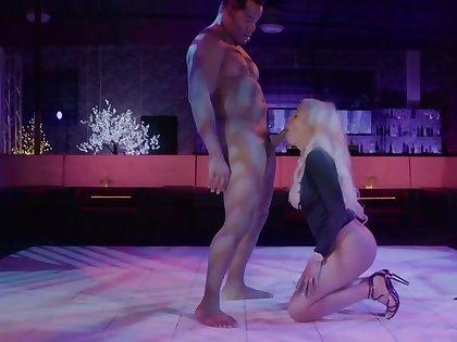 Big-tittied Latina comes regarding transmitted to nightclub and has interracial sex