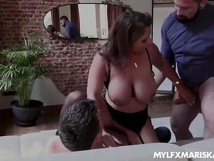 Low-spirited Susi - Chunky Ass Domineer Black-hearted Milf Susi Double Penetrated By Two H